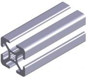 Profilé d'aluminium - Dimensions (Lxh) mm : de 30x30 à 30 x 150