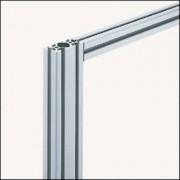 Profilé en aluminium 60 x 30 mm - Profilé 6 60x30 naturel