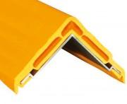 Profilé protection d'angle industriel en aluminium