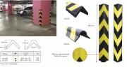 Profilé protection d'angle industriel en caoutchouc