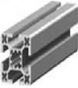 Profilé structure aluminium - Dimensions (Lxh)mm : de 40x40 à 40x160