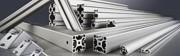 Profilés aluminium guidages linéaires Longueurs découpées - Longueurs découpées, étiquetées et repérées