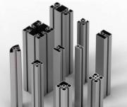 Profilés aluminium modulaires - Profilés : 19, 32, 35, 45, 60, 90, mini ou grande dimension
