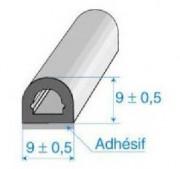 Profilés cellulaires avec adhésifs en EPDM - Rouleau de 50 ml / 60 ml - Résistance rupture : 20 N/mm²