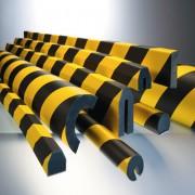 Profilés de protection contre les chocs - Utilisation à l'intérieur comme à l'extérieur