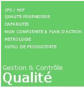 Progiciel de controle production - Objectif zero defaut