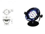 Projecteur aquatique pour professionnel - Projecteur aquatique 24w LED pour piscine