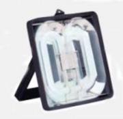 Projecteur étanche de chantier - Durée de vie prévisionnelle de l'ampoule : 8000h