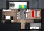 Proposition maquette d'appartement haut standing
