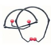 Protecteur auditif arceau pliable - Conçu pour des expositions sonores jusqu'à 95 dB