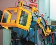 Protecteur fraiseuse à triple micro-interrupteur - Monté sur bras articulé en tube d'acier