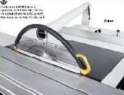 Protecteur pour scie circulaire sur potence - Diam. maxi de la lame : 400 - 450 mm