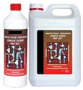 Protecteur préventif pour chauffages - Ph : solution à 5% environ 6.5 - 7.5