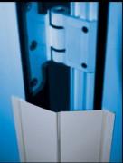 Protection anti pince doigt - De couleur blanc aspect laqué ou peint - Ouverture maxi – 90° à 180°