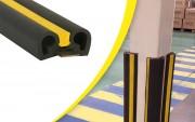 Protection d'angle de mur et rack - Longueur : 2 m - Diamètre : 95 ou 105 mm