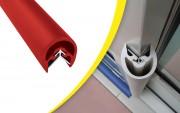 Protection d'angle mur 3/4 rond - Longueur : 2000 mm - 11 couleurs disponibles