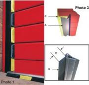 Protection de portes industrielles - Rollaseal