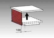Protection latérale en mailles métalliques pour table élévatrice - Option