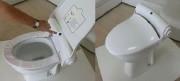 Protection lunette WC automatique - Couvre siège pour toilettes publiques