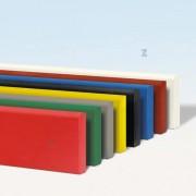 Protection murale antichoc polyéthylène - Hauteur : 90 mm - Épaisseur : 15 mm