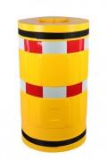 Protection piliers avec bande réfléchissante - Diamètre (mm) : 620