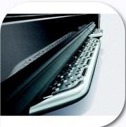 Protection seuil de porte voiture - Tube inox de 1,5 mm, poli miroir