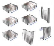 Protections télescopiques - Épaisseur entre 1,5 et 3 mm