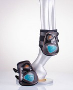 Protège-boulets équestre - Intérieur en néoprène doux avec bords en lycra