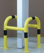 Protège colonne d'acier - Dimension (H x L) mm : 600 x 520