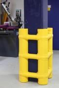 Protège colonne modulable - Hauteur (mm) : 1000