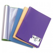Protege document en polypropylene memphis assortis mode 60 vues 15602921 - Elba