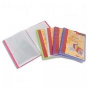 Protège document personnalisable 40 vues, 20 pochettes Silky Touch coloris assortis - ATLANTA