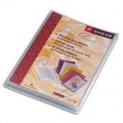 Protège document personnalisable 80 vues, 40 pochettes Silky Touch coloris givré - ATLANTA