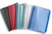 Protège-documents FLEXAM. Pochettes amovibles. Coloris noir. - Elba