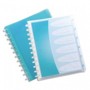 Protège documents HAWAI PP 60 vues, 30 pochettes amovibles bleu - elbaprint