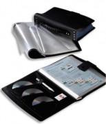 Protège-documents TOUT TERRAIN. 20 faisceaux de 10 pochettes soit 400 vues. Coloris noir. - Elba