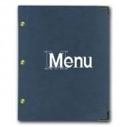 Protège menu aspect papier craft - L 31.5 x l 24 cm