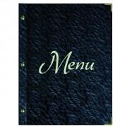 Protège menu de restaurant - Dimensions: 31,5 x 24 cm - 23,5 x 18,5 cm