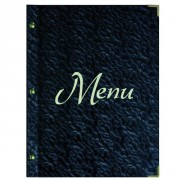 Protège menu de restaurant
