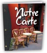 Protège-menu pour restaurant - Dimensions : 25 x 0,5 x 31,5 cm