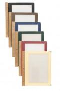 Protège menu reliure en bois - - Format : A4 ou A5 - Vendu par : 20 - Dimensions : 23,5 x 19,8 x 0,1 cm