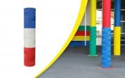 Protège poteau - Qualité : PVC sur Polyester - RR : 235 daN - Epaisseur : 25 ou40mm