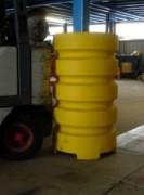 Protège poteau en polypropylène