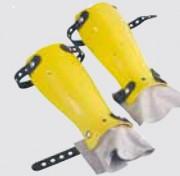 Protège Tibia en ABS pour bucheronnage - Pointures disponibles : Taille unique - Semelle : semelle antidérapante et anti perforation
