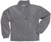 Pull polaire à col zippé homme - Taille : du S au 2XL