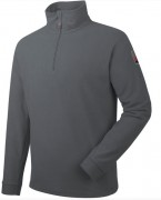 Pull polaire de travail - Micropolaire 100 % polyester - Col montant 1/2 zip