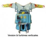 Pulvérisateur agricole - Bi turbines - Tri turbines - Quadruple turbines – Débrayage individuel