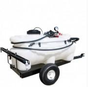 Pulvérisateur agricole pour micro tracteur - Matière : Polyéthylène -Capacité : 55 à 95 L - Dimensions : 1100x560x600 mm