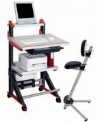 Pupitre de travail debout et assis - Position de travail : Debout ou assis