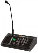 Pupitre microphone pour centre de conférences - 10 zones - Avec afficheur LCD